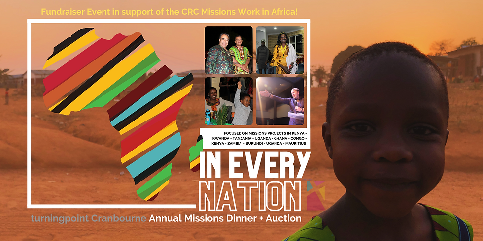 turningpoint Missions Dinner and Auction 2021 !