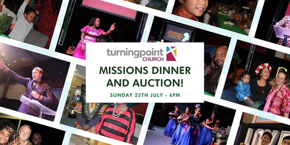 turningpoint Missions Dinner and Auction 2021
