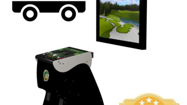 2021 Golden Tee Golf HOME EDITION LIVE Arcade NEW IT Factory Pedestal FREE SHIP