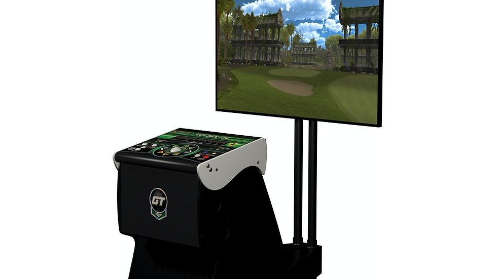 2021 Golden Tee Golf HOME EDITION LIVE Arcade NEW IT Factory Ped WITH STAND