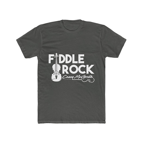 Fiddlerock! Signature Logo Men's Cotton Crew Tee