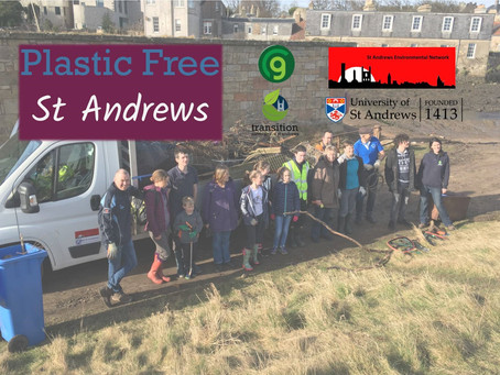 Towards a Plastic Free St Andrews