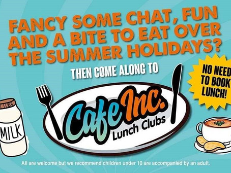 Cosy Kingdom @ Cafe Inc Lunch Clubs