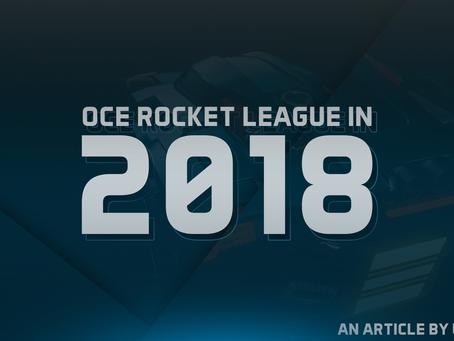 OCE Rocket League in 2018