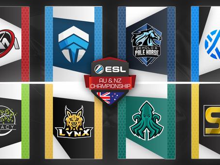 ESL AU&NZ Championship Season 3 Preview