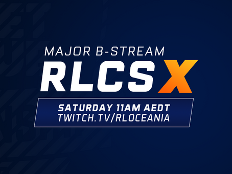 WATCH THE RLCS X OCEANIC MAJOR, THIS SATURDAY!