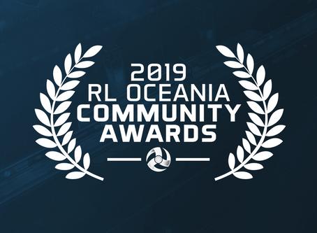 THE 2019 RL OCEANIA COMMUNITY AWARDS