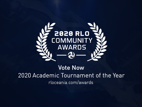 2020 RLO COMMUNITY AWARDS - ACADEMIC TOURNAMENT OF THE YEAR