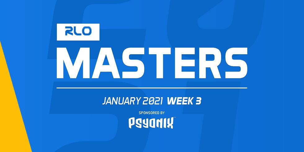RLO Masters Week 3 - January 2021