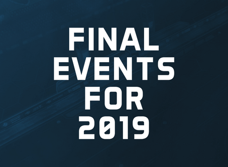 The Final Events for 2019