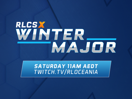 WATCH THE RLCS X WINTER OCEANIC MAJOR, THIS SATURDAY!