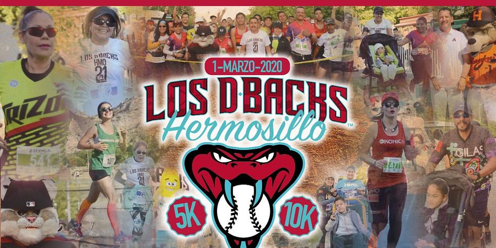 LOS DBACKS 21K HERMOSILLO