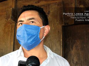 En Tlatlauqui, reactivación económica bajo estricto control sanitario, anuncia Loeza Aguilar