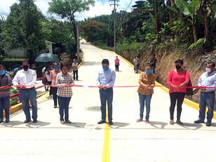 La obra pública comunitaria es motor de la reactivación económica en Hueytamalco: De Gante