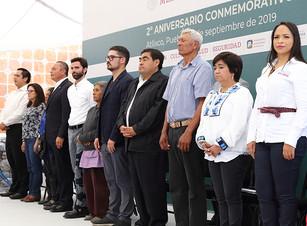 SEDATU aplicará 4 mil mdp en Puebla, del Programa Nacional de Reconstrucción