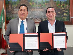Mario Castro y el ITSTL suscriben convenio de servicio social a favor del desarrollo de Teteles