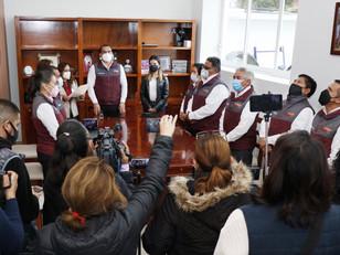 Castro Jiménez suscribe convenio con INSUS para escriturar bienes inmuebles en Teteles