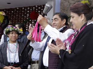 El festival étnico cultural Huey Atlixcáyotl será el escenario nacional de las danzas: Miguel Barbos