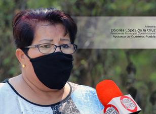 Dolores López de la Cruz felicita al gobernador Barbosa Huerta por su cumpleaños