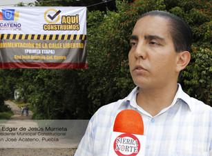 Con Barbosa en el gobierno, Acateno fortalece sus esperanzas de lograr su pleno desarrollo