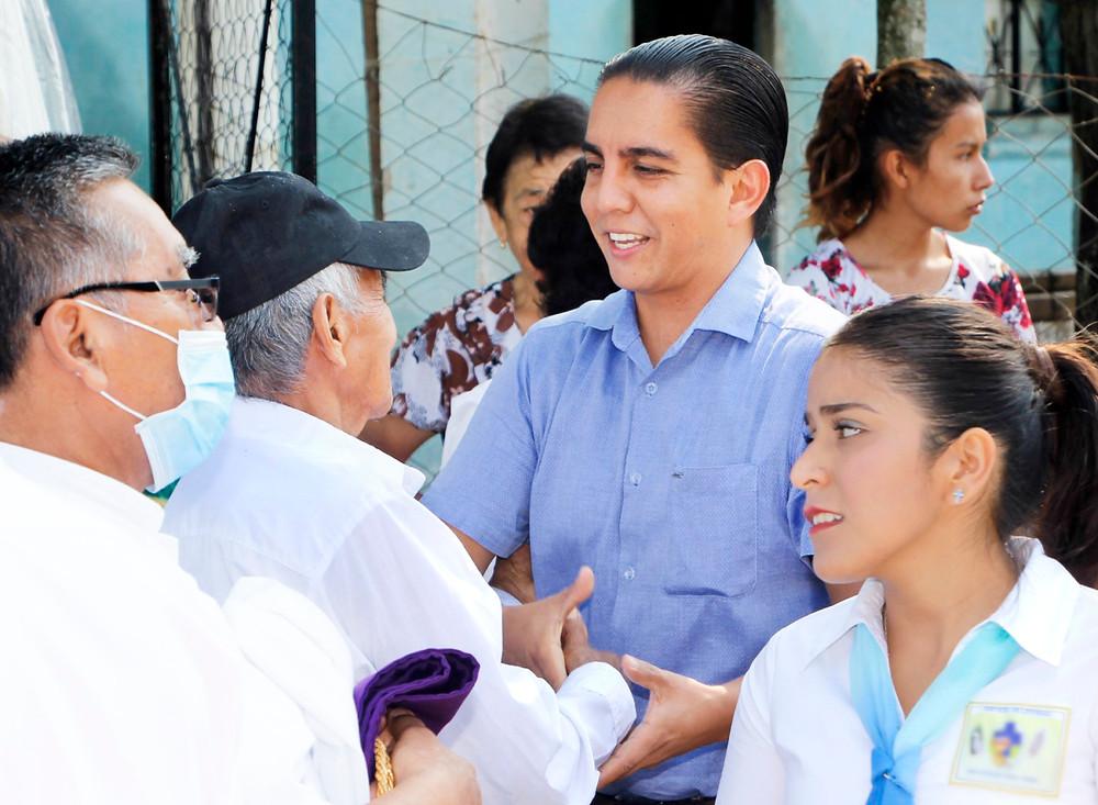 En Acateno, Salud y PC aplican acciones preventivas por temporada de estiaje, informa el alcalde Edgar Murrieta