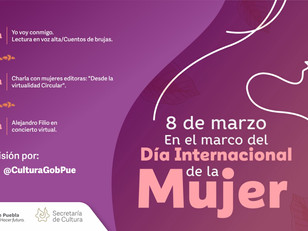 Conmemora Cultura Día Internacional de la Mujer con actividades artísticas y de lectura