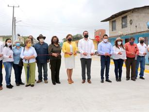 Gobierno del Estado consolida infraestructura educativa en Teteles de Ávila Castillo: MCJ