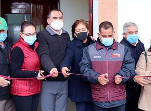Mario Castro inaugura el Centro de Control y Vigilancia de Seguridad Pública en Teteles