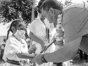Los protocolos sanitarios por el COVID-19 mantienen ritmo de progreso en Cuetzalan: Gerson Calixto