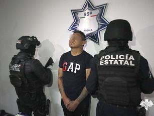 """Captura Policía Estatal a """"El Costras"""", presunto multihomicida, extorsionador y narcomenudista"""