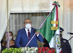 Con unidad cumplimos con México, recalca Ramiro Haquet al celebrar el Día de la Independencia