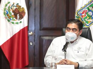 Planificado y escalonado, el retorno a las actividades en Puebla, reitera Miguel Barbosa
