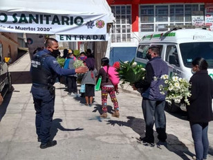 Saldo blanco en Todos Santos y Día de Muertos en Zaragoza, reporta Protección Civil