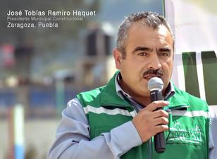 Ramiro Haquet cerró su segundo año de gobierno con la inauguración de la explanada en Acuaco