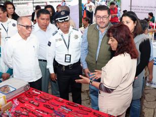 Cierra con éxito en Cuetzalan la Jornada de Atención Ciudadana Servicios y Prevención del Delito