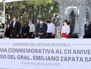 Puebla y en el país no hay cabida para los corruptos y traidores: MBH