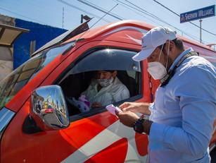 En operativos de inspección, la SMT sancionó unidades irregulares