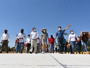 Con obras y acciones, Carlos Herrera recoge palabra empeñada con los atempanenses