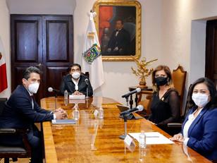 Barbosa Huerta construye Agenda Bilateral Puebla-Alemania para consolidación de inversiones