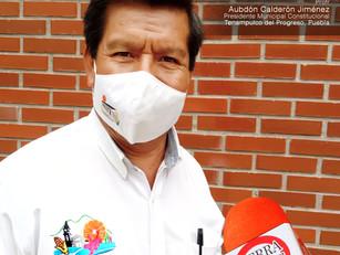 Programas de la SDR detonarán a economía en Tenampulco, reconoce Calderón Jiménez