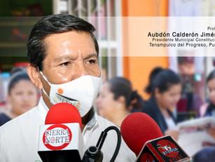 Por Tenampulco, civilidad, madurez política y comicios sin confrontaciones: Aubdón Calderón