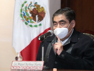 """""""En Puebla acabaron los actos de audacia"""", afirma MBH al pedir que aspirantes cuiden la democracia"""