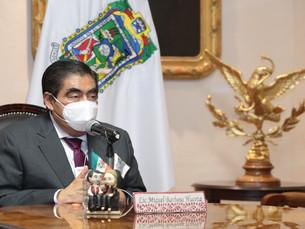 En Puebla, aún no hay condiciones de semáforo amarillo, reitera MBH