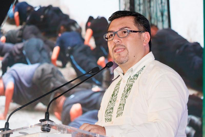 En su primer informe de gobierno, el alcalde Gerson Calixto reportó una inversión de 133 millones 757 mil 767 pesos aplicados a elevar la calidad de vida de los cuetzaltecos