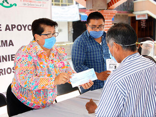López de la Cruz agradece a SDR rescate de 280 maiceros afectados por sequía en Ayotoxco