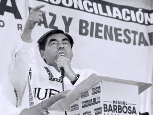 Trabajo y reconciliación harán de Puebla el mejor lugar para vivir: Barbosa Huerta
