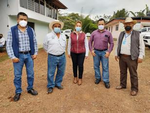 SDR y la JLSV unen esfuerzos para certificar café, limón y aguacate en la región de Hueytamalco