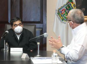 """El programa """"Porque el agua es tu derecho"""", continuará a que finalice la pandemia: Miguel Barbosa"""