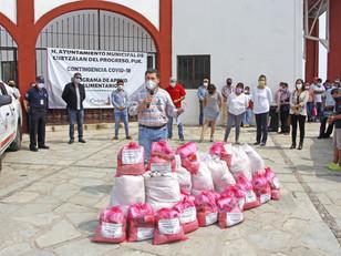 Programa alimentario en Cuetzalan rebasa ya las 21 mil familias beneficiadas; falta una etapa
