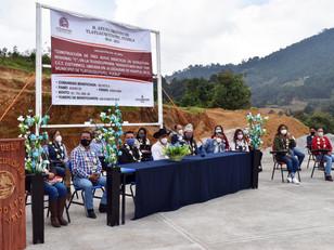 En Tlatlauquitepec se inauguran instalaciones en Telesecundaria de Huaxtla